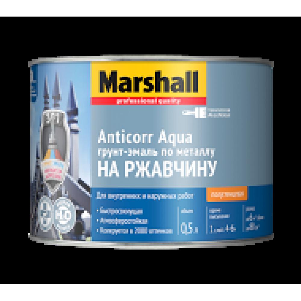 Marshall Anticorr Aqua / Маршал Антикор Аква водная грунт эмаль по металлу на водной основе 3 в 1